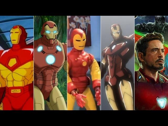 Эволюция Железного Человека в мультфильмах и кино/Evolution of Iron man in movies and cartoon