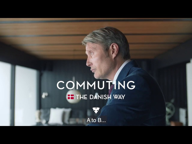 Mads Mikkelsen - Commuting The Danish Way