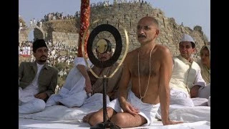 """Худ. фильм """"Ганди""""(победитель 8 премий «Оскар»)."""