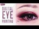 Digital Eye Painting Taylor Brooker