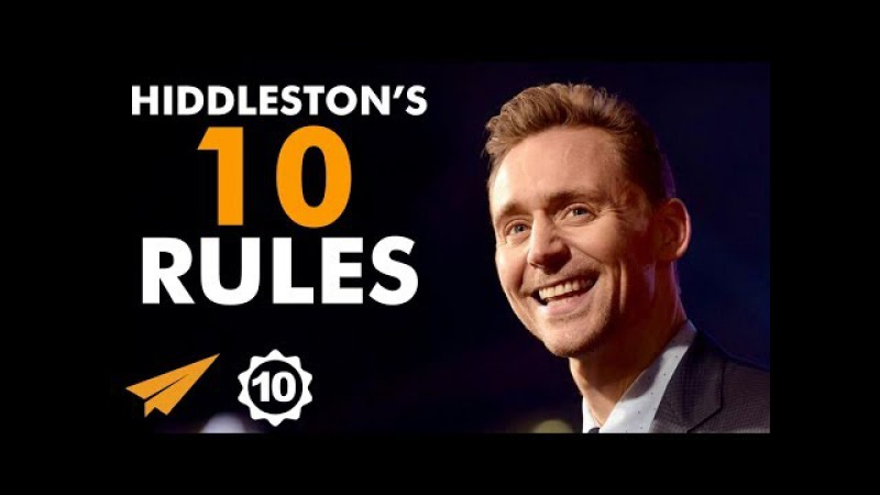 There's NO TIME For Doubt Or Failure Tom Hiddleston @twhiddleston Top 10 Rules