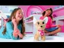 Simba Chi Chi love Интерактивная плюшевая собачка Счастливчик, с сумочкой, 20 см арт.5893110