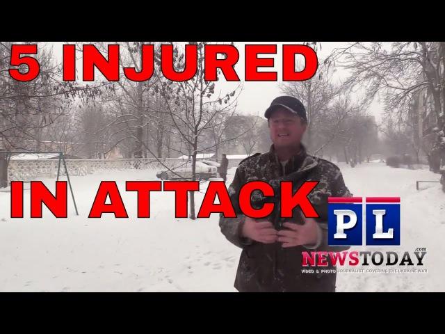 Ukraine War News 5 civilians injured by yesterdays artillery attack