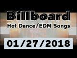 Billboard Hot DanceElectronicEDM Songs TOP 50 (January 27, 2018)