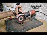 Homemade Angle Grinder Stand / Angle Grinder Support.. homemade angle grinder stand / angle grinder support..