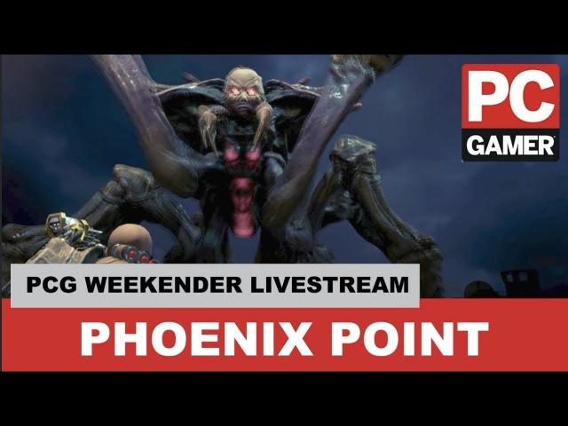 Phoenix Point Developer Interview - PC Gamer Weekender Live Stream