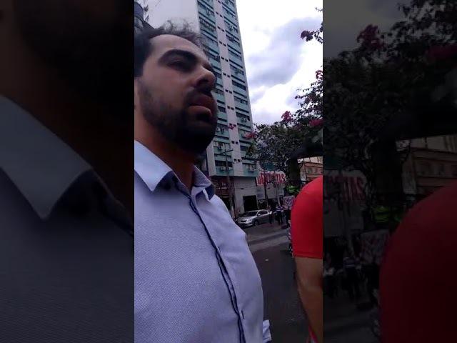 BRAVO Dentista coloca em prática a democracia em evento da CUT em Goiânia GO