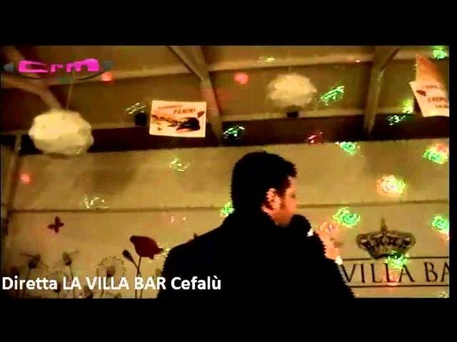 Maurizio Indelicato O sole mio La Villa Bar Cefalù in diretta con CRM Happy Radio