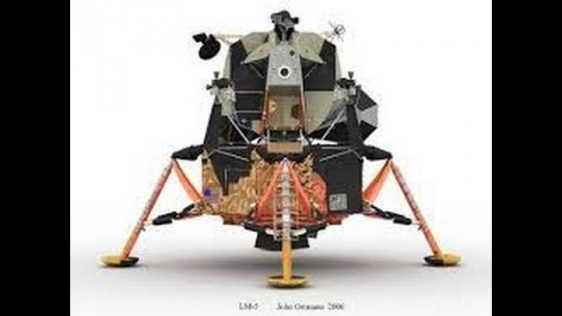 Аппараты лунных программ.Лунный модуль.Документальный фильм
