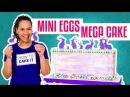 How To Make a CADBURY MINI EGGS MEGA CAKE With COCONUT Cake Yolanda Gampp How To Cake It