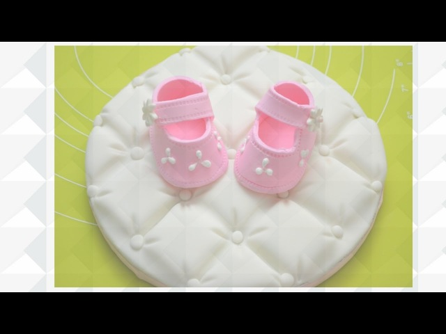 Quilted Cake Topper for Babys Cake Part I