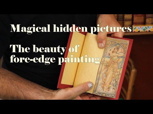 Fore-edge Showcase. 10 books with amazing vanishing pictures