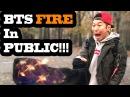DANCING KPOP IN PUBLIC - BTS FIRE