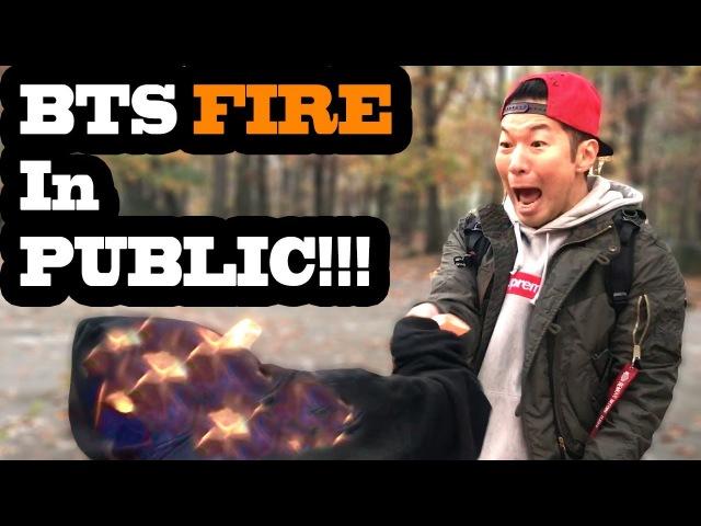 DANCING KPOP IN PUBLIC BTS FIRE