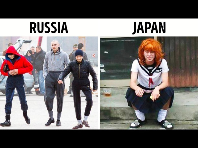 Here's What Gangs From All Over the World Look Like