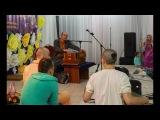 Киртан Адираса прабху на фестивале Санкиртаны Выходного Дня 2017