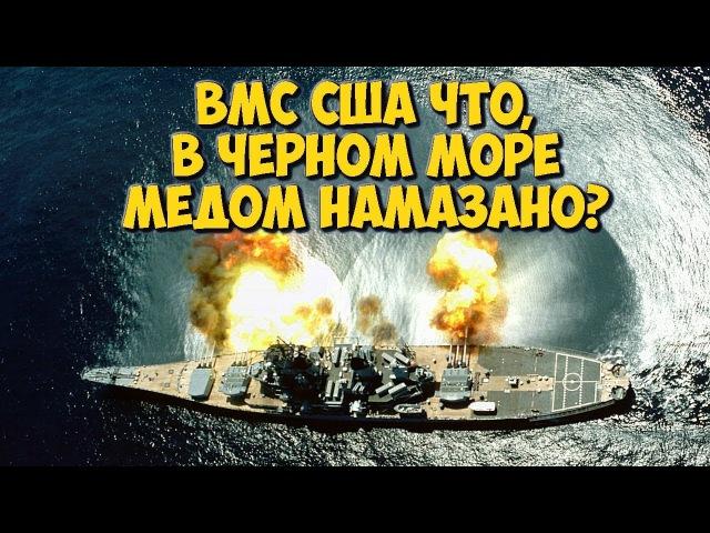 ✅ Американскому военно-морскому флоту что, в Черном море медом намазано?