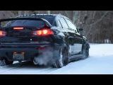 Evo X MR Snow Launch