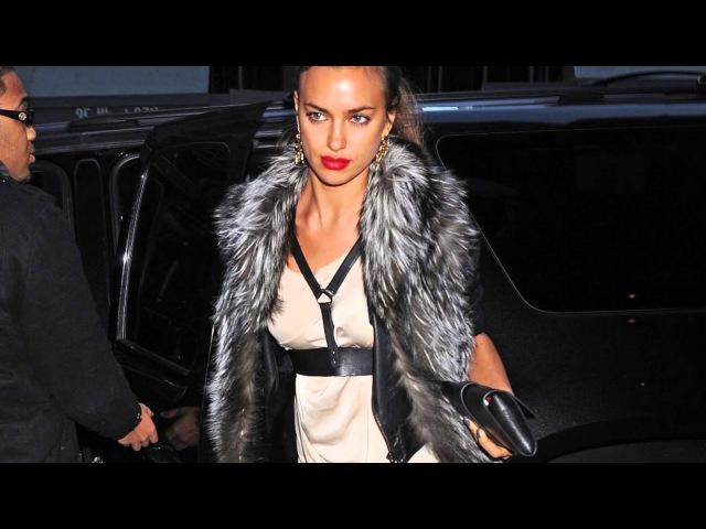 Irina Shayk Fashion Model Street Style