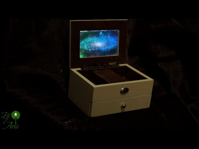 Музыкальная шкатулка-ночник «Андромеда»
