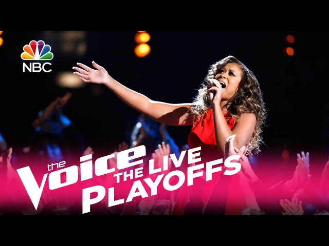 The Voice 2017 Felicia Temple - Live Playoffs: