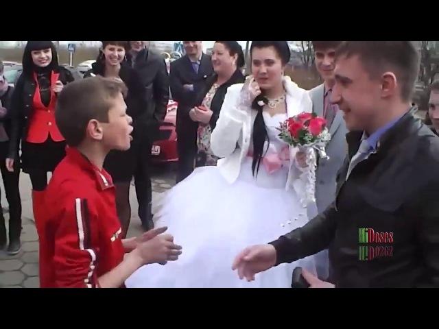 пацан жжет на русской свадьбе / the boy dances at the wedding