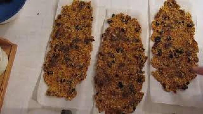 Сладкие хлебцы без выпечки Приготовление на батарее отопления смотреть онлайн без регистрации