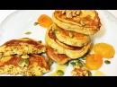 Оладушки К ЗАВТРАКУ Тыквенные с Цельнозерновой Мукой и Курагой Pumpkin Pancakes