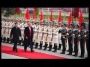 President Trump & Melania Welcomed to China with INCREDIBLE Ceremony in Beijing 11/8/17