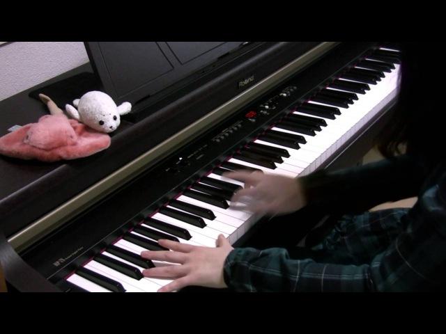 【さかさふくろう】「時ノ雨、最終戦争」をピアノで弾いてみた(中学二年)
