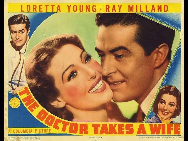 Комедия Женитьба врача (1940) Loretta Young Ray Milland