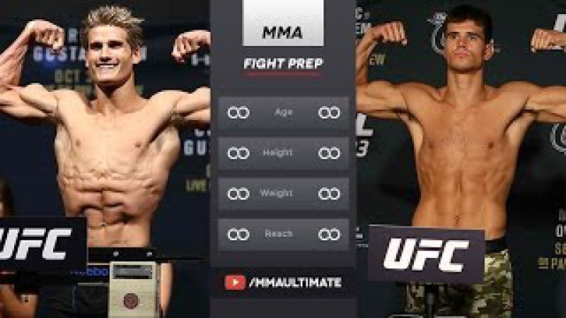 UFC ON FOX 22: Sage Northcutt Training For Mickey Gall