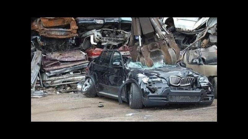 Begini Nasib Mobil Mewah BMW di Daur Ulang Setelah Tidak Layak Pakai