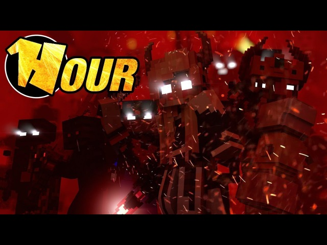 【1 Hour】 We Are the Danger - A Minecraft Original Music Video ♫