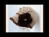 CROCHET PATTERN, ASHTON NEWSBOY CAP, how to crochet a hat