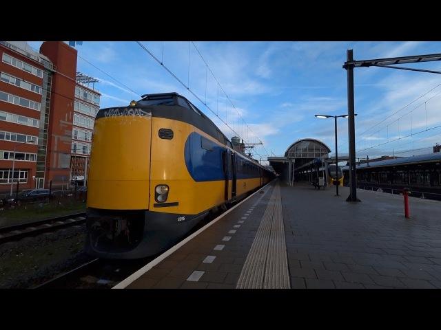 Train Driver's POV 's -Hertogenbosch - Roosendaal ICM 2018 kijkje in de doorloopkop