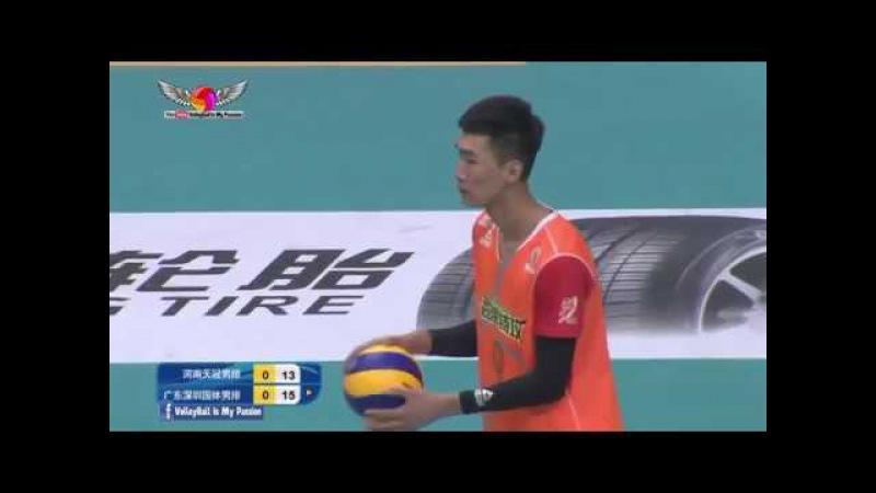 Henan (河南) vs Guangdong (广东) | 07-01-2018 | Chinese Men's volleyball super league 2017/2018