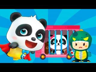 Малыш Панда против Злобного Короля.Финал Игры.Спасение Пандочки Мю-Мю.Приключен...