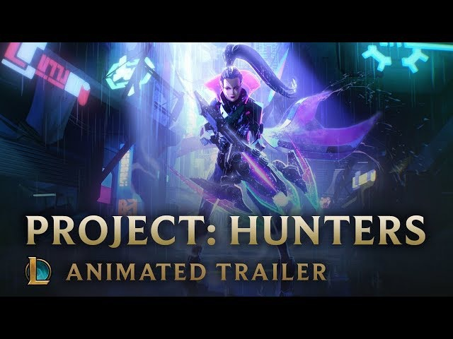 The Hunt | PROJECT: Hunters Animated Trailer - League of Legends