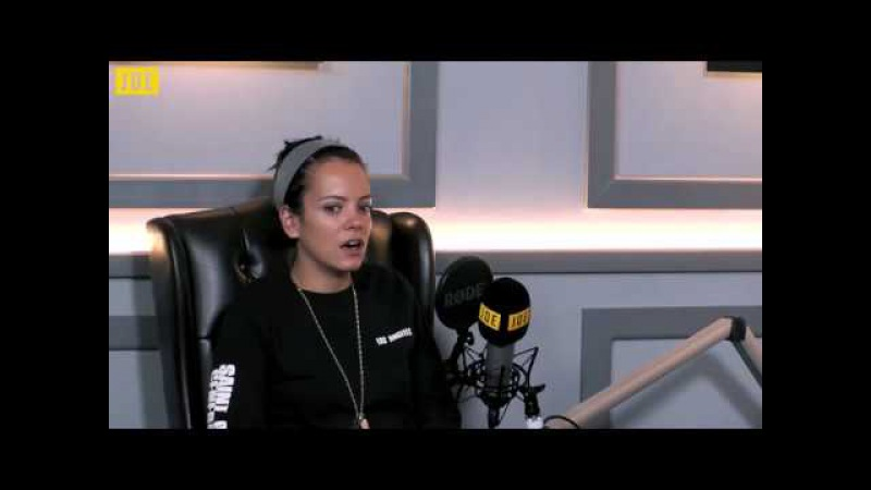 Lily Allen talks to James O'Brien in episode five of JOE.co.uk's video podcast Unfiltered