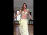 Belly Dancer Cassandra Fox Dances to Drum solo Karsihlagala by Issam Houshan
