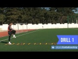 Football coaching video - soccer drill - ladder coordination (Brazil) 1