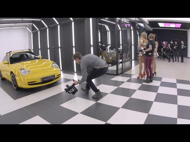 Ceramic Pro Porsche backstage