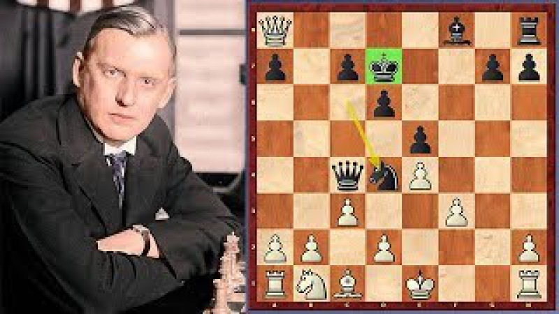 Alexander Alekhine's Most Powerful King Move