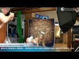 Bravo Models Media - Prague - photo shoots backstages - porn model FLORANE RUSSEL - 01