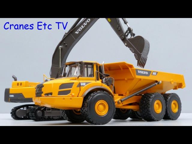 Motorart A40F Articulated Hauler by Cranes Etc TV