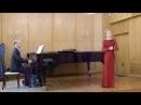Фестиваль Музыка народов мира Мария Селевёрстова сопрано