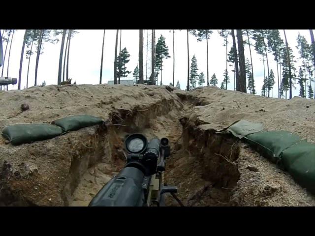 Norwegian Army Training - Lasertag