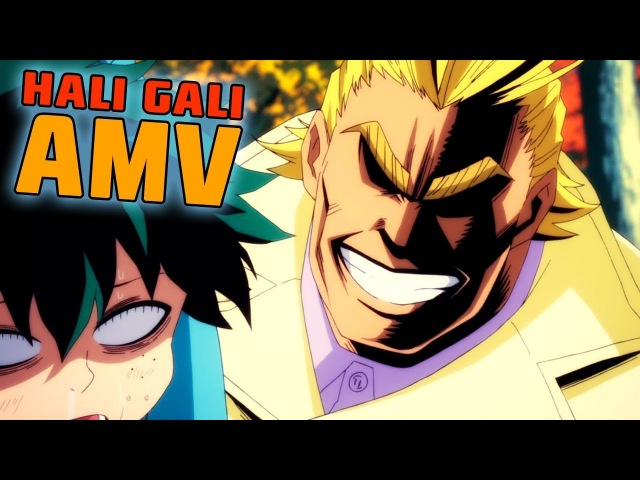 Boku no Hero Academia AMV - Hali-gali, young Midoriya [ENG SUB]