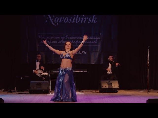Юлия Никитенко. Raks Al Malak Novosibirsk - 2017